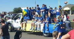 Piedmont Founders Day Parade Football Team